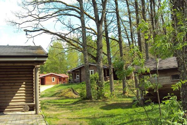Erholungszentrum Nelijärve /Ferienhäuser