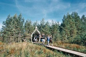 Riisan luontopolku Soomaan kansallispuistossa