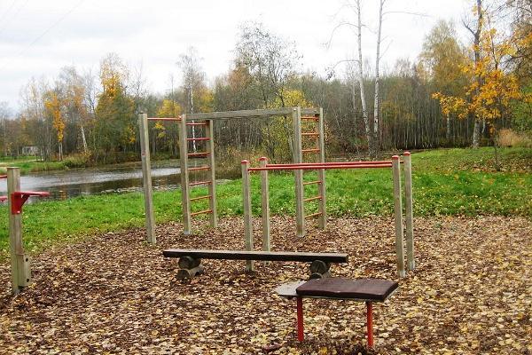 Health track of the Rapla Vesiroosi Health Park