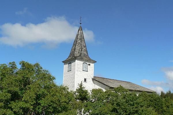St. Laurentius Church on the island of Prangli