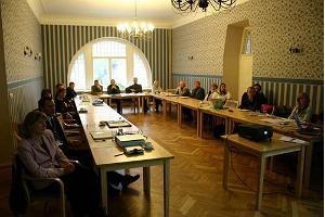 Das Gästehaus des Gutshofs Jäneda, das Seminar