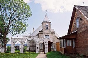 Das Gebetshaus der Altgläubigen des Estnischen Vereins der Altgläubigengemeinden in Kükita