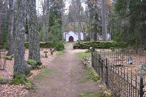 Esku chapel and cemetery