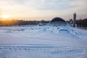 Winterzentrum am Sängerfestplatz Tallinn – Snowtubing und Schlittenhang