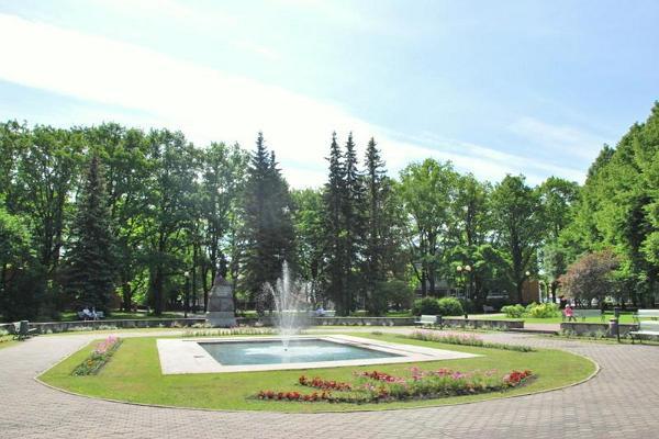 Das Denkmal für Lydia Koidula