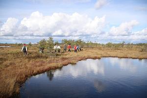 Moorschuhwanderung im Hochmoor Kakerdaja