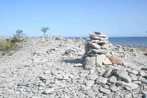 Tagaranna (Ninase) limestone cliff and observation tower