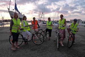 """""""Baltreisen"""" velotūres Pērnavas pilsētā vietējā gida pavadībā"""