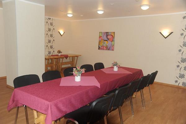 Das Gästehaus Katariina, das Seminar