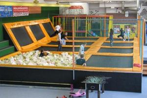 Trampoline centre UP in Tartu