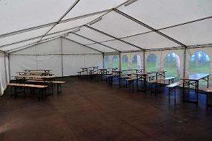 Seminarraum des Feriendorfes Eisma
