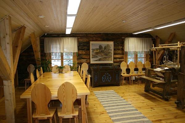 Café Tsäimaja in the Värska Farm Museum