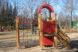 Kohilan leikkikenttä Lastenpuistossa