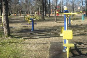 Spielplatz im Kinderpark in Kohila