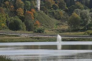 Das Karksi Urstromtal und die Überreste der Ordensburg