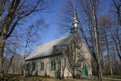 Каменная церковь в Кунда