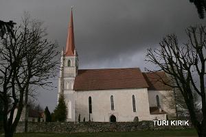 Svētā Mārtiņa baznīca Tiri (Türi) pilsētā