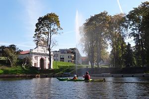 Rundtur i Pärnu stads natur tillsammans med besök till Pernova Naturhus ekobyggnad