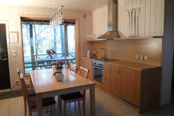 Waldhaus auf der Insel Saaremaa (dt. Ösel)