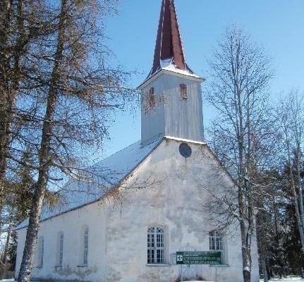 Martinskirche in Vändra