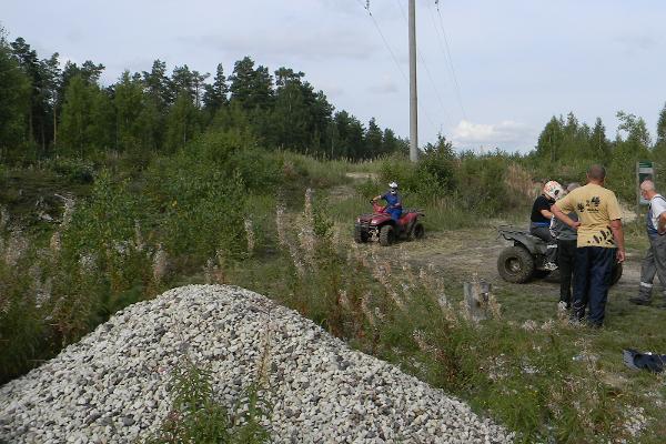 Трасса для гонок по пересеченной местности в Падизе