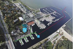 Der Hafen des Jachtclubs des ESS Kalev