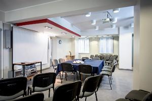 Seminarraum des Estnischen Bergbaumuseums