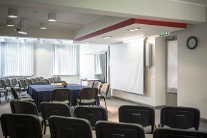 Seminarielokalen i Estlands Gruvmuseum