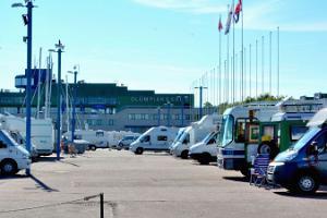 Pirita hamns husvagnsparkering