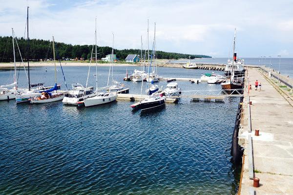 Порт на острове Найссаар