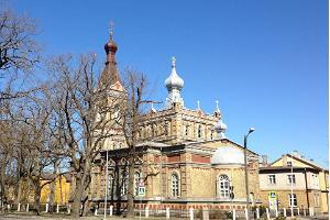 Estlands Apostoliska Ordoxa Kristi Förklaringskyrkan i Pärnu.