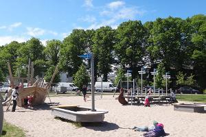 Vallikäärun leikkikenttä Pärnussa
