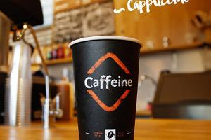 """Кафе """"Caffeine"""" на улице Кюйни"""