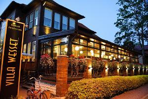 Villa Wessets restaurang