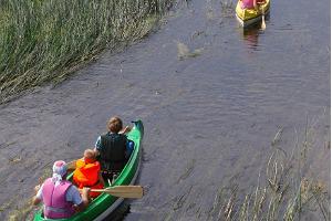 Samliku ühepäevased kanuumatkad Pärnu jõel