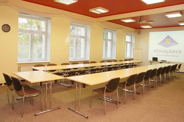 Das Konferenzzentrum des Pühajärve Spa & Ferienzentrums