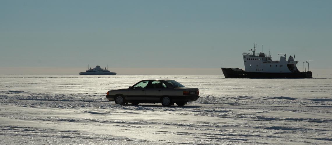 Isvägar - varumärket för en riktig estnisk vinter