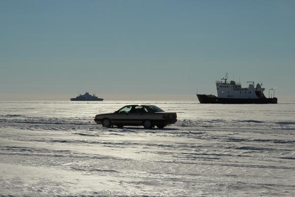 Ледовый путь – торговый знак доброй эстонской зимы