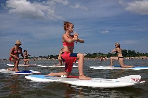 Aloha Surf Centre, SUP yoga