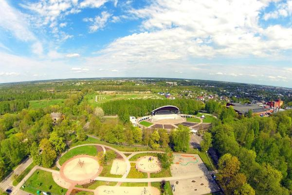 Lasten ja nuorten puisto Tähtveren puistossa