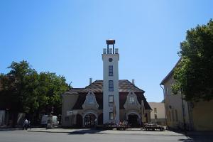 Pritsumaja (Brandstationen) i Kuressaare