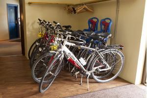 """Der Fahrradverleih im Hotel """"Liilia"""" in Hiiumaa"""