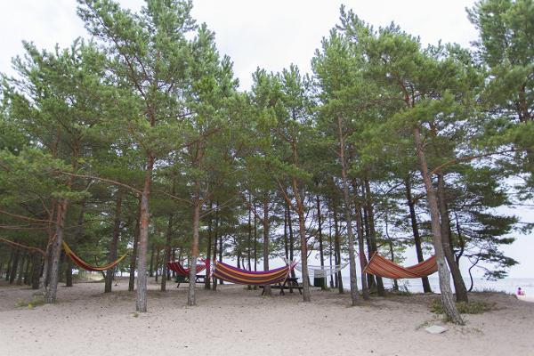 Rannabaar Manjaana Mändjala Kämpingus Saaremaal