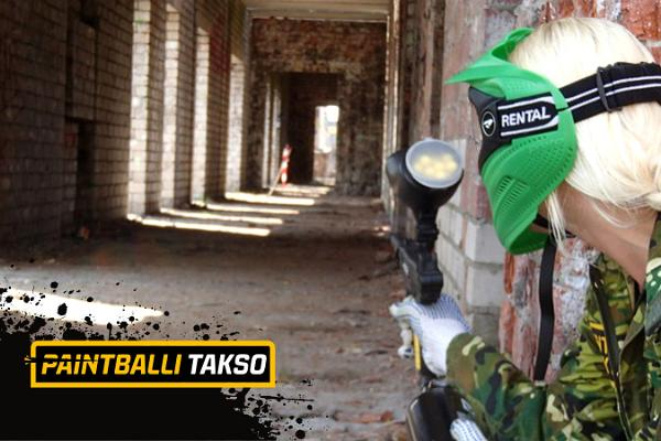 Paintball över hela Estland - beställ Paintball-taxi!