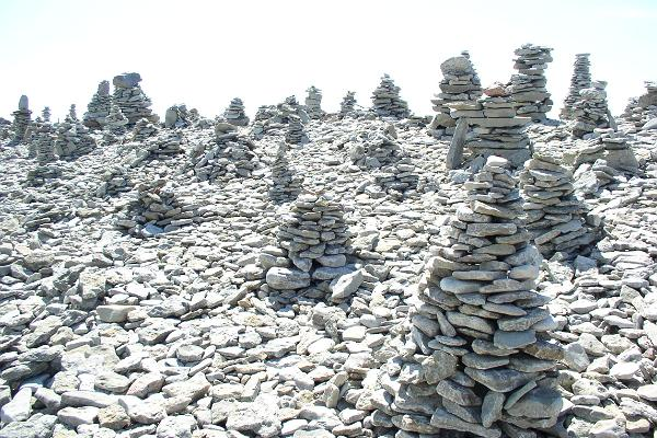 Ohessaare cliff and rock stacks