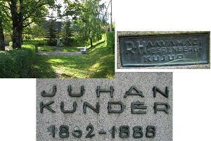 Das Denkmal für Juhan Kunder