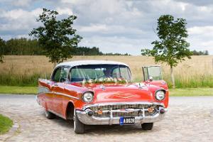 LaitseRallyParks kollektion av veteranbilar