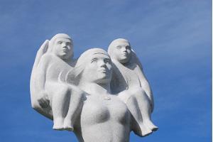 """Das Monument """"Estnische Mutter"""""""