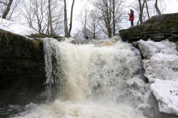 Водопад Лангевоя