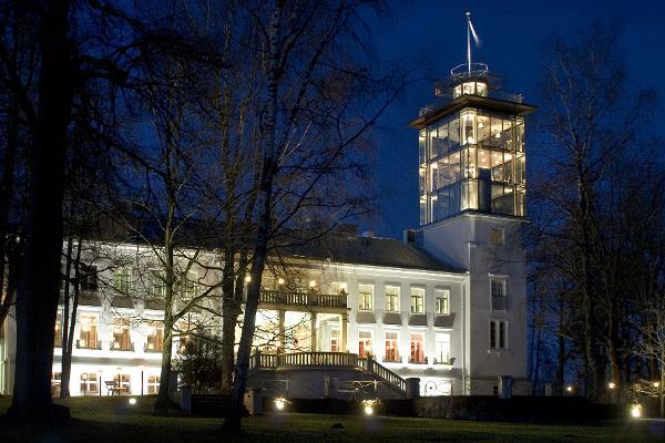 Torncaféet på Pühajärve Spa & Semestercentrum
